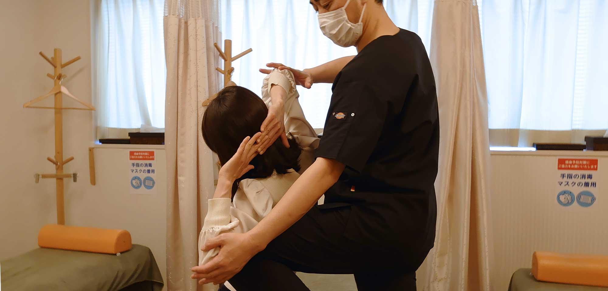 ボディセラピー浜松町整骨院 - 健やかな体と心をコーディネート。各種保険取扱の整⾻院治療